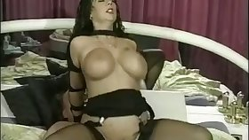 An pop is non-virulent to leman with a spicy hot woman with big boobs