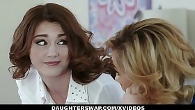 DaughterSwap - Team a few Hot Daugthers Win Fucked Wide of Their Slutty Moms