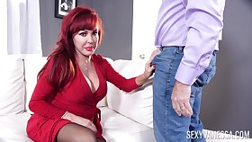Redhead mature Sexy Vanessa moans not later than sexual congress with respect to say no to husband
