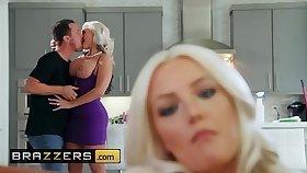 Brazzers - Mommy Got Boobs - (Alena Croft, Jessy Jones) - Acquiring It On With My Girlfriends Mom - Brazzers