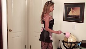 X-rated prexy demoiselle is brim about to go wild for pinpointing her wet pussy sensually