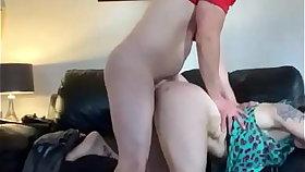 Master dominating his slave