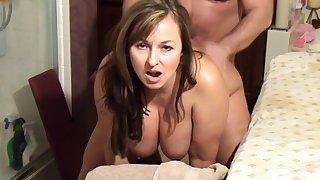 Crazy Amateur video with BBW, Mature scenes