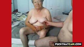 Granny and grandpa defoliate on cam