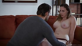 Hot MILF fucks her psychiatrist increased by turn this way foetus got a body to die for