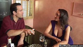 A sexual encounter in the lead bar and Persia Monir is one helluva busty woman