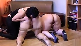 Ass rimming lesbians lick pussy and fingering in hd