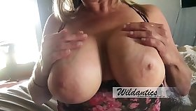 Big titty milf  gets titty fucked with an increment of creamed