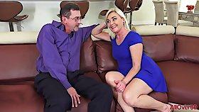 Hot lustful GILF crazy making love video
