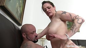Chubby matured German fit together sucks and gets fucked by a stranger